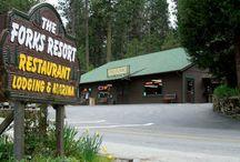 Bass Lake, Yosemite & Carpenteria - and Heavenly places