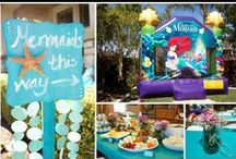 Under the sea birthday party / the little mermaid birthday party / Under the sea. Little mermaid Disney