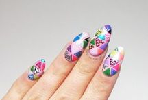TEXTILES PRINTS AND PATTERNS / nail art inspired by textiles, fashion, and the like! / by BASECOATTOPCOAT