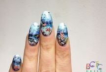 SCENERY NAILS / mountains, beaches, cityscape and more! / by BASECOATTOPCOAT