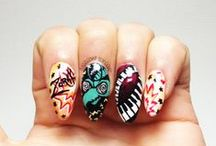 CHARACTER NAILS / Disney, Cartoon Netwoork, Comics and More! / by BASECOATTOPCOAT