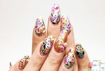 3D and MISC. Nail art / Swarovski's, Fimo, Studs, Pearls MORE is MORE is MORE / by BASECOATTOPCOAT