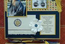 Handmade Graduation GIfts / photo displays, grad gifts, graduation favors, grad DIYS