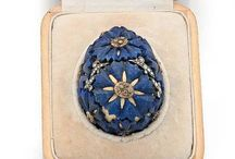 Fabergé eggs and russian imperial jewelry