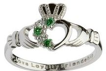 Celtic and Claddagh Rings / Our Celtic rings for women and men are designed and made in Ireland and available in both gold and sterling silver. You'll find the whole gambit of traditional Celtic iconography - claddaghs, spirals, Celtic knots and such. Each piece is a statement not just of style but of ancient wisdom.