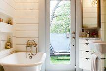 baths / by Sharon Barrett Interiors