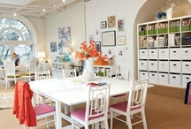 Workspace/office / Ideas for Simply Natural Events new office...