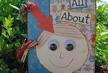 All about me week  / by Julie Reid