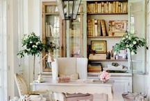 Dream office...sewing, gift wrapping, etc  / by Linda Diamond