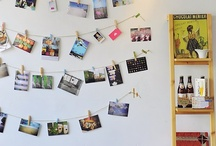 what to do with postcards? / for that moment when you have a bunch of postcards and not a clue of how to display them / by Inês Cosme