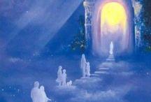 Portals of Light / The LIGHT will always shine thru the darkness. portals, light, God, Heaven, shine, portal of light, white light, tunnel of light, Heaven's light, Divine light / by Spirit Healer