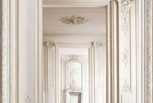 surfaces - millwork/plasterwork / by Noël McGuinness