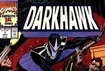 Darkhawk / One of my favorite characters of all time. This was the first 'new' character I got into when I started collecting comics. I was about a year into my new hobby when he was introduced. / by Skott Jimenez