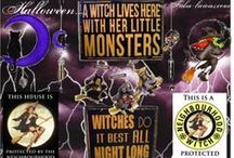 Halloween!  / It's nearly our favourite time of year! Halloween is coming! Hoorah! Get your witch goods right here!