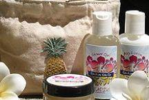 Paradise Cosmetics Bath and Body / Paradise Cosmetics, Cosmetic Bakery, Botanical Bath & Body / by Tiffany Scarvie