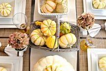 Thinking of Thanksgiving / Get inspired and get ready for all things fall and Thanksgiving!