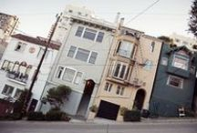 san francisco. / I left my heart in San Francisco.