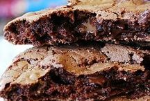 CHOCOLATE Cookies/Bars / by Tiffany Scarvie