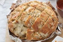 Food - Breads Savory / by Tiffany Scarvie