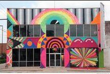 street art. / Art is not a crime.