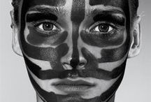 Geometry / Dots and lines in makeup