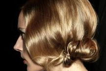 Nape / This is all about low buns, low braids, and chignons. Very event friendly hair.