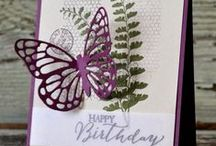 Stampin' Up Butterfly Basics! / The Stampin' Up Butterfly Basics bundle is a must have for card-making, and you can order it at a discount between 9/15-9/21 at http://www.stampinup.com/ECWeb/ItemList.aspx?categoryid=100100&dbwsdemoid=2109303