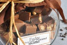 Truffes,fudge,et caramels