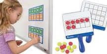 Ten Frames / FUN WAYS TO USE TEN FRAMES! Ten-Frames play a fundamental role in the development of students' understanding of numbers and skills such as subitizing, adding and subtracting, and counting. GET YOURS TODAY: http://www.hand2mind.com/tenframes