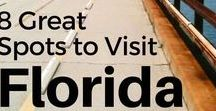 Florida Travel Ideas / Florida travel | things to do in Florida | places to visit in Florida | where to eat in Florida | Florida beaches | Travel tips, destinations, travel ideas, things to do, all about the great Sunshine State of Florida.