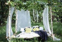 outdoor living / by Marina Kelly