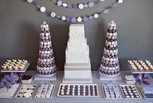 {Wedding} Dessert Tables/Candy Bars / Inspiration for wedding dessert tables and candy bars.