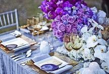 Amethyst Ombre Wedding Inspiration