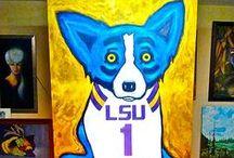 Louisiana Blue Dog / Blue Dog