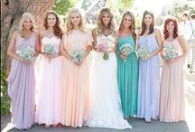 {Wedding} Bridesmaids & Flower Girls