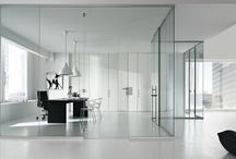 Pareti divisorie per Ufficio / Pareti divisorie e attrezzate per dividere l'ufficio moderno