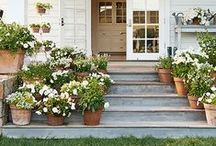 Outside Living / Landscape Ideas and Outdoor Decorating