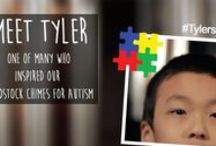 Woodstock Chimes for Autism / Meet Tyler Doi, an amazing boy with a passion for windchimes, and (happily for us) Woodstock Chimes in particular! Woodstock Chimes for Autism ($55.45) were inspired by Tyler and children like him who are living with autism. All after-tax profits from the sale of this chime go to research and programs that support people living with #autism. Please visit us at www.chimes.com/autism to learn more. / by Woodstock Chimes