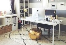 Home Office / Inpiration for a Home Office Make-over