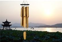 Beautiful Bamboo Chimes / The rich, mellow sound of these bamboo chimes by Woodstock Chimes will warm your soul. Made by Balinese artisans using sustainable materials. Treat yourself to the sounds of the tropics! / by Woodstock Chimes