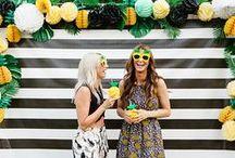 {Party} Flamingos & Pineapples