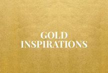 Gold Inspirations / http://www.wovenwithgold.com/