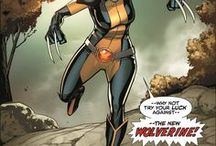 Marvel: Wolverine II / X-23 is a product of the Weapon X program cloned from a damaged sample of Wolverine's DNA. Since she could walk, she was trained to kill Wolverine, but instead she joined the X-Men, becoming his daughter figure and eventually, his successor.