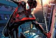Marvel: Spider-Man II / Originally created in the Ultimate Universe, this version of Spider-Man is a 16 year old kid named Miles Morales from Brooklyn who takes on the Spider-Man identity after Peter Parker's death. Miles discovers spider powers of his own after he was bitten by a spider 11 months before Peter's death, and uses these powers to be the best superhero he can be.