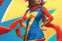 Marvel: Ms. Marvel II / A shape-shifting Muslim Pakistani-American teenager from New Jersey, who becomes the newest holder of the Ms. Marvel identity.