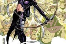 Marvel: Hawkeye II / A member, unofficial leader and former financial benefactor of the Young Avengers, Kate is also known as Hawkeye and is heir to the Bishop fortune.