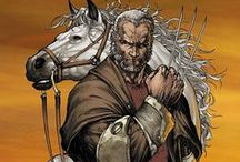 "Marvel: Logan / A long-lived mutant with the rage of a beast and the soul of a Samurai, James ""Logan"" Howlett's past is filled with blood, war, and betrayal. Possessing an accelerated healing factor, enhanced senses, and bone claws in his hands that, along with his skeleton, are coated in adamantium, Wolverine is the ultimate weapon."