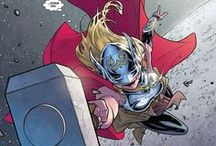 Marvel: Thena / Thena is the daughter of Thor from Earth-982(MC2 Universe).