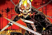 Marvel: Ghost Rider IV / A talented young mechanic with a penchant for anything with an engine and electronic music, but above all else he loves his little brother Gabe. When his plan to get Gabe out of East L.A. goes fatally awry, he is resurrected by the Spirit of Eli Morrow into the supernatural being, the All-New Ghost Rider!