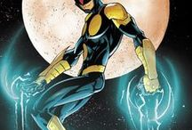 Marvel: Nova II / Sam Alexander is a Nova Centurion and the newest member of the Nova Corps, an intergalactic peacekeeping force. He is also a member of the Avengers and the latest incarnation of the New Warriors.